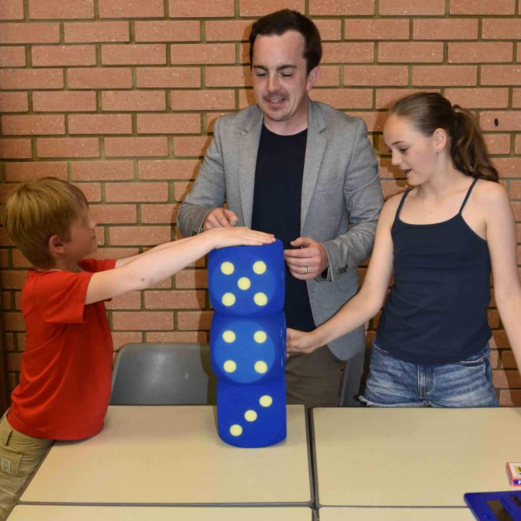 Maths workshop big dice