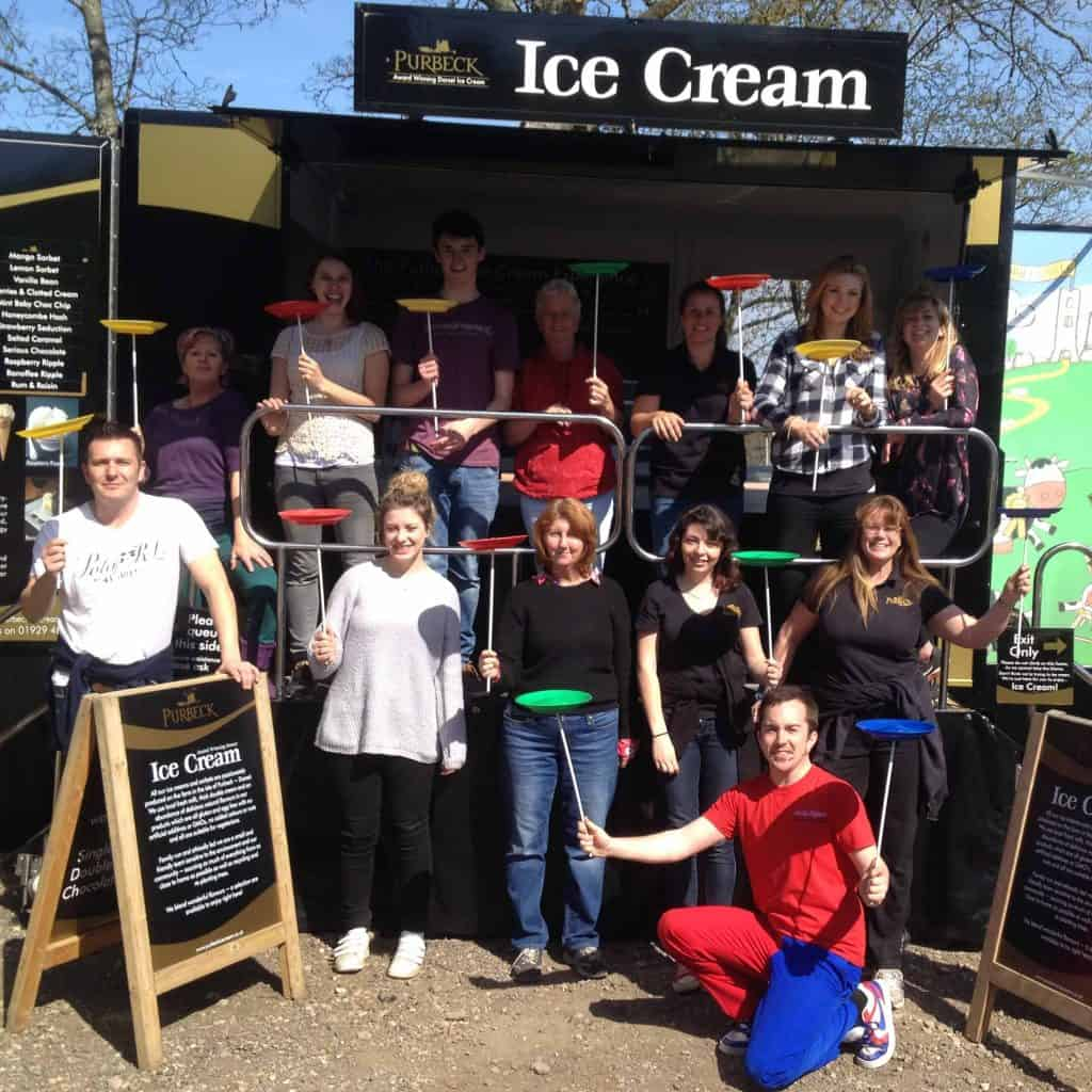 Purbeck Ice Cream Team Building Day