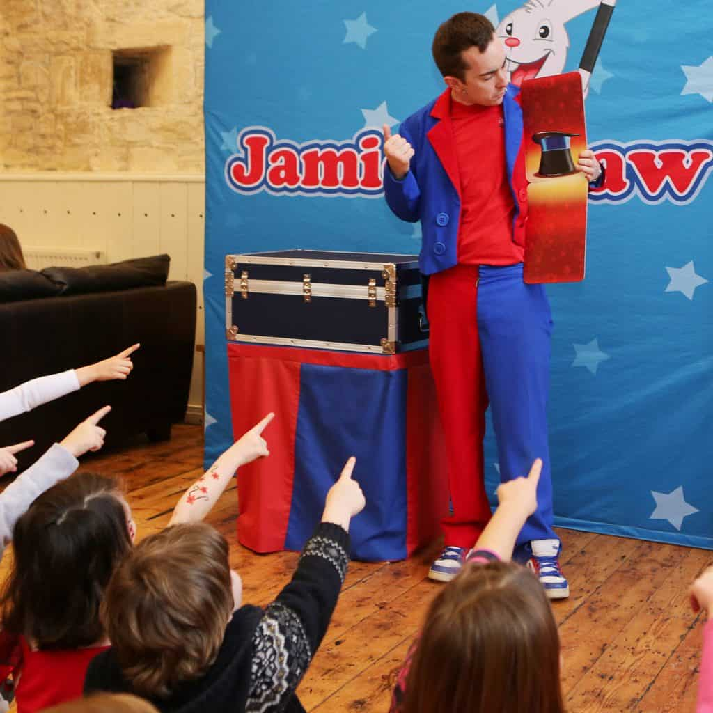 SQU Jamie Jigsaw Kids Birthday Party